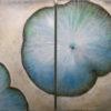 Lotusblatt blau